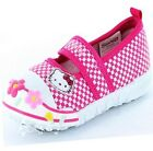 Girls Hello Kitty Cypress Canvas Trainers Shoe Sizes 4-10