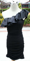 NWT WINDSOR Black Juniors Evening Party Day Dress M