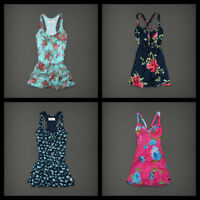 $68 NWT Abercrombie & Fitch Womens Summer Floral Dress Size S