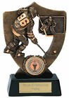 ICE HOCKEY SOLID RESIN TROPHY AWARD PUCK STICK PLAYER FREE ENGRAVING A831A SS