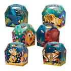 10 Childrens Kids Under the sea Nemo Food Loot Favour Birthday Party Bag Boxes