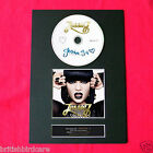 JESSIE J Who You Are Album Signed Autograph CD & COVER PRINT FREE POSTAGE (5)