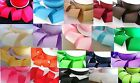 """50 yards Solid Grosgrain 2"""" inch Wide Ribbon/50mm GR20-Roll 20 Color *FREE SHIP"""