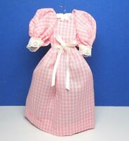 Dollhouse Miniature Size Ladies Completely Handmade Cotton Dress G204
