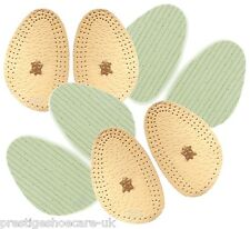 Leather Pine Half Insoles Womens Shoes Half Insoles Grip Shoes Odour & Slip Free