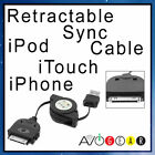 Computer USB Sync Data Cable for Apple Iphone 3GS, 4, 4S, iTouch, iPod Black