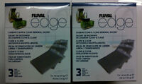 Fluval Edge Carbon Clean and Clear: 6 inserts  DOUBLE PACK FREEPOST!