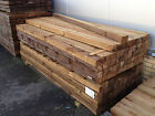 """Treated Fence Posts 2',3',4' (3""""x3"""") - Next Day Delivery!"""