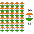 """INDIA - 30 x 1.5"""" Rice Paper Cake Toppers - Free 1st class P&P INDIAN"""