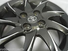 TOYOTA YARIS ECHO ALLOY WHEEL SPARE 15X5 PCD 4X100 ET39 1 ONLY GENUINE ACCESSORY