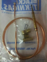 Black Teknigas 7000/EL/900 Standard Universal Gas Thermocouple 900mm 36""