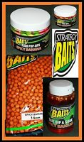 Strategy Baits Spicy Banana Boilies Fluo Pop Up Dip Liquid 1 2,5kg 12 16 14 20mm