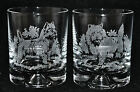 CAIRN TERRIER *DOG GIFT* Boxed PAIR GLASS WHISKY TUMBLER