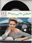 """KYLIE MINOGUE Tears On My Pillow PICTURE SLEEVE 7"""" 45 record + juke box strip"""