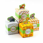 24 Mix Born To Be Wild Jungle Safari Theme Baby Shower Favor Candy Box Animal