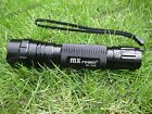 MXPower 103B 365nm Ultraviolet UV Radiation LED Blacklight Lamp Flashlight Torch