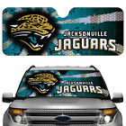 Jacksonville Jaguars Licensed NFL Reflective Car Windshield Sun Shade, Auto