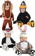 LICENSED 11 - 18 MONTHS BUGGS BUNNY DAFFY DUCK SYLVESTER TAZ INFANT COSTUME