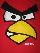 ANGRY BIRDS Red bird movie PHONE APP Video GAME APP MEN'S NEW Funny t-Shirt