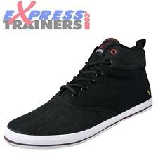 Voi Jeans Mens Fiery Miracle Designer Hi Top Plimsolls/Trainers (Bl) *AUTHENTIC*