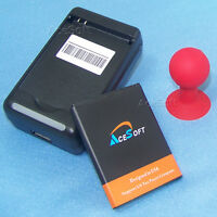New 3020mA Battery+Dock Charger+Holder F Samsung Exhibit II 4G SGH-T679 SGH-T759
