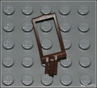 Lego Pirates x1 Dark Brown Scabbard Sword Holder Strap Weapon Minifigure NEW