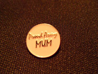 Proud Army Mum brooch pin, Military, Family, Pride