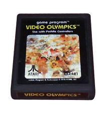 Video Olympics Atari 2600 Game with Booklet Rare Retro Vintage Pong Game P/J