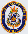 USS Connecticut SSN 22 - Crest - Arsenal of the Nation BC Patch Cat No B803
