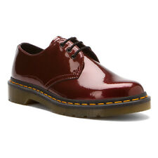 Dr. Martens Women`s 1461 3 Eye Spectra Red Patent Gibson US 6 7 9 Retail $130
