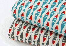 Fish 100% Cotton Fabric / All sizes / Quilting Cotton fabric off cuts (fft168)