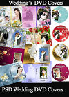 Wedding Digital DVD Covers Labels Photoshop Templates PSD