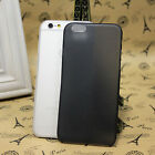 Black/Gray Transparent Ultra Thin Matte Hard Cover Case For Apple iPhone 6 4.7''