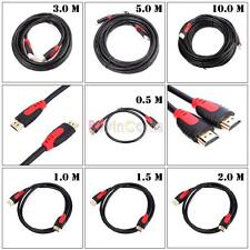 0.5/1/1.5/2/3/5/10m 2.0V HDMI Cable Supports 4K X2K Ethernet 3D Audio HDTV BDE