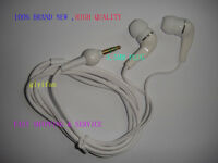 White NEW 3.5mm In-Ear Earbud Earphone Headset FOR iphone MP3 MP4 CD DVD PLAYER