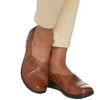 Clarks Leather Slip-on Shoes - Evianna Fig PICK SIZE & COLOR NEW