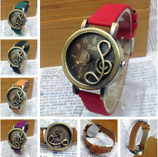 Individuality Wrist Watch Leather Band Quartz Analog Watches Hot Fashion