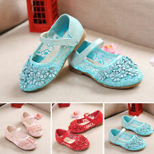 Baby Girls Flower Sandals Flat Shoes Cute Kids Child Casual Summer Party Shoes