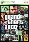 Grand Theft Auto IV XBOX 360 COMPLETE MINT