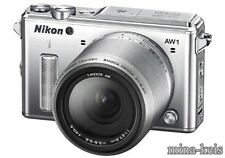 NIKON 1 AW1 WATERPROOF Digital CAMERA & AW 11-27.5mm Lens F/S SPEEDPOST EMS