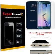 FULL BODY Curved Tempered Glass Screen Protector Shield Samsung Galaxy S6 Edge