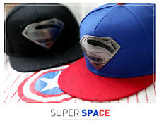 New Fashion S Superman Hip-hop Baseball Cap Adjustable Snapback Unisex sport hat