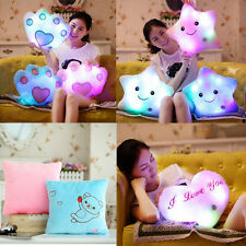 Multi-Shaped Glowing LED Pillow Color Changing Light Up Soft Cosy Relax Cushion