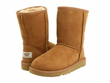 NEW WOMEN UGG AUSTRALIA BOOT CLASSIC SHORT  CHESTNUT ORIGINAL 5825