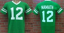 NEW YORK JETS JOE NAMATH RETRO JERSEY V-NECK SHORT SLEEVE T-SHIRT
