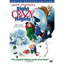 DVD Eight Crazy Nights Adam Sandler Comedy Christmas Holiday 2 Disc Set Naughty