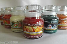 YANKEE CANDLE   FALL &  WINTER FRAGRANCES  SMALL CANDLES  3.7 OZ.   YOU CHOOSE!