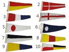 Capt. O.M Watts LTD. Mini Sailboat / Nautical Country & Supporter Flags (CP67)