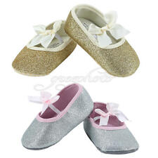 Infant Kid Girl Soft Sole Crib Toddler Baby Shoes Anti-slip Newborn to 18 Months