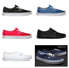 Vans Authentic All Colors All Sizes Canvas Mens/Boys/Women/Girl Shoes